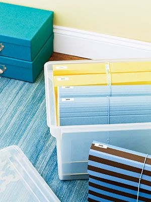 Best storage options for important documents