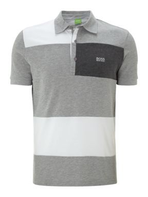 7cb43aedf Hugo Boss Rugby polo Grey - House of Fraser | Men's Knit Tops | Polo ...