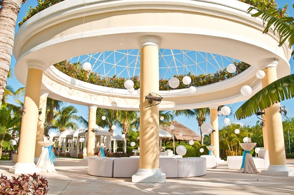 Fun And Fabulous Tail Reception At Iberostar Grand Hotel Paraiso Mexico
