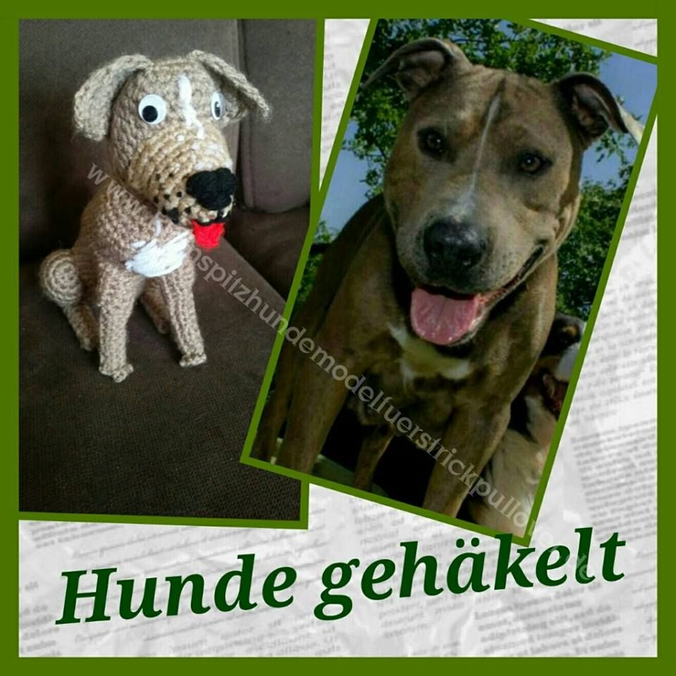 Ihr Hund als Amigurumi gehäkelt crochet http://www ...