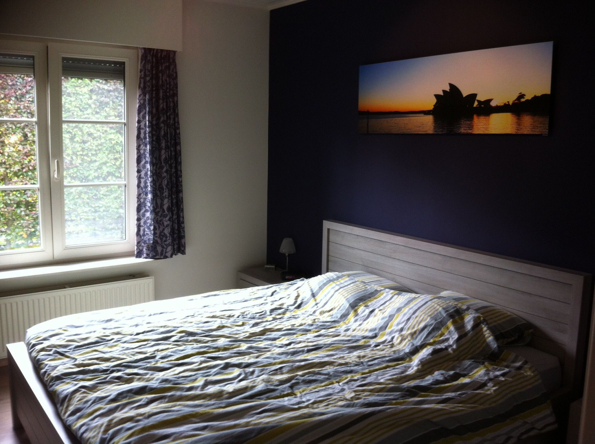 Bedroom wall accent color