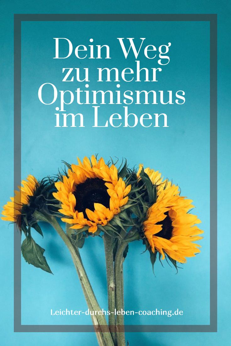 25+ Optimismus und positives Denken lernen