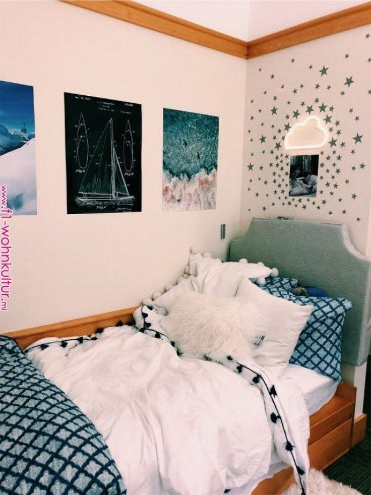 76 gorgeous cozy dorm room ideas you'll want to copy 48 » froggypic.com