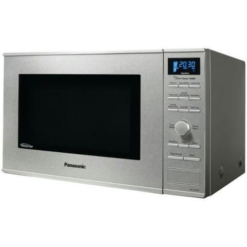Panasonic 1 2 Cu Ft Stainless Steel Countertop Microwave Oven