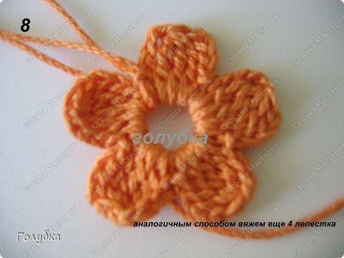 Gorro de bebé con flores agujas de tejer para niña | Casquillo que ...