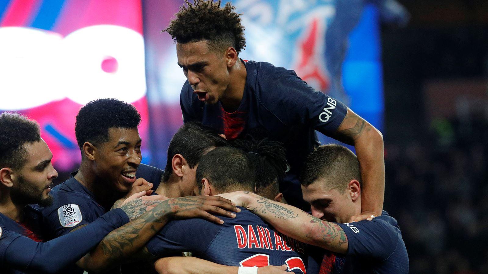 PSG 5 1 Montpellier HSC, 17e journée de Ligue 1 Psg