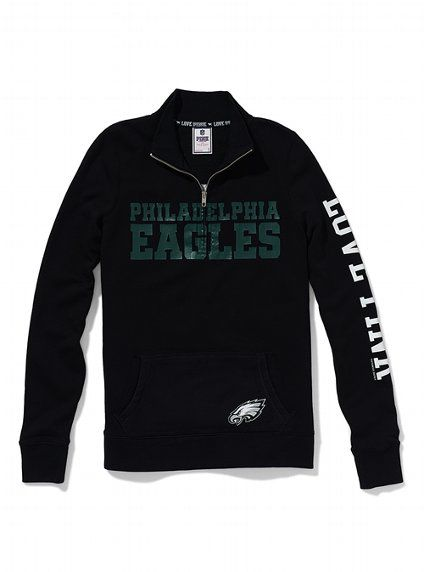 OFFICIAL N.F.L.PHILADELPHIA EAGLES ZIPPERED HOODIES & FLY