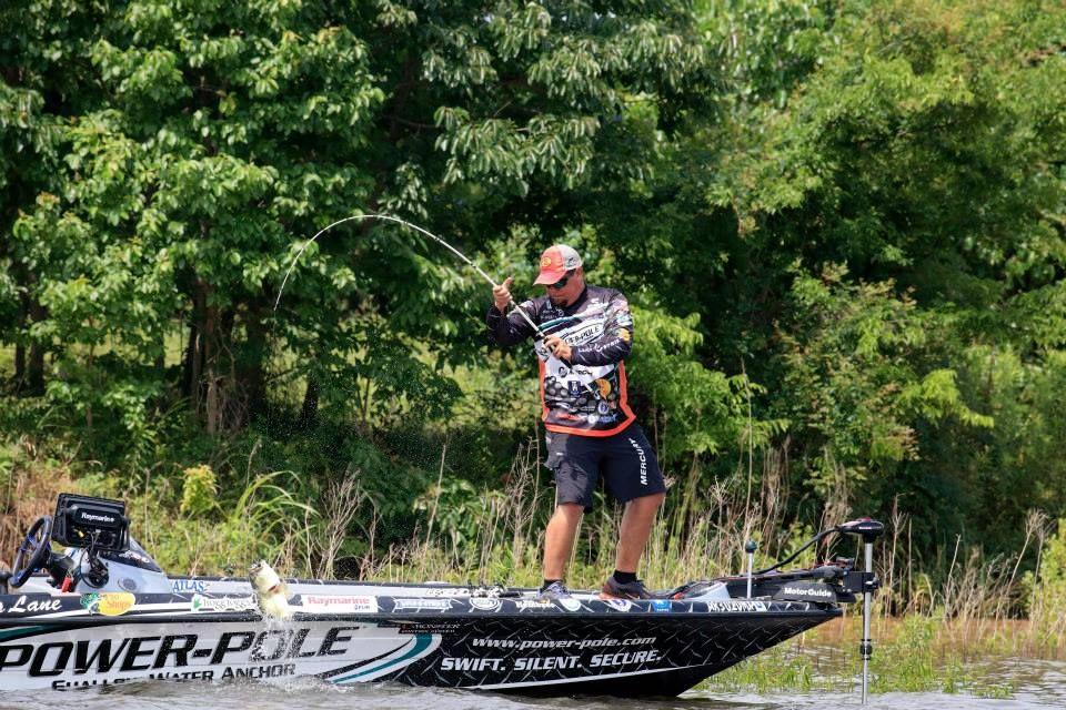 Chris Lane- B A S S  Elite Series Pro- Fishing in the 2015 Toyota