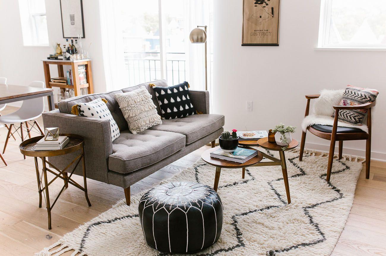 Vintage mitte jahrhundert wohnzimmer karmi mkarmitho on pinterest