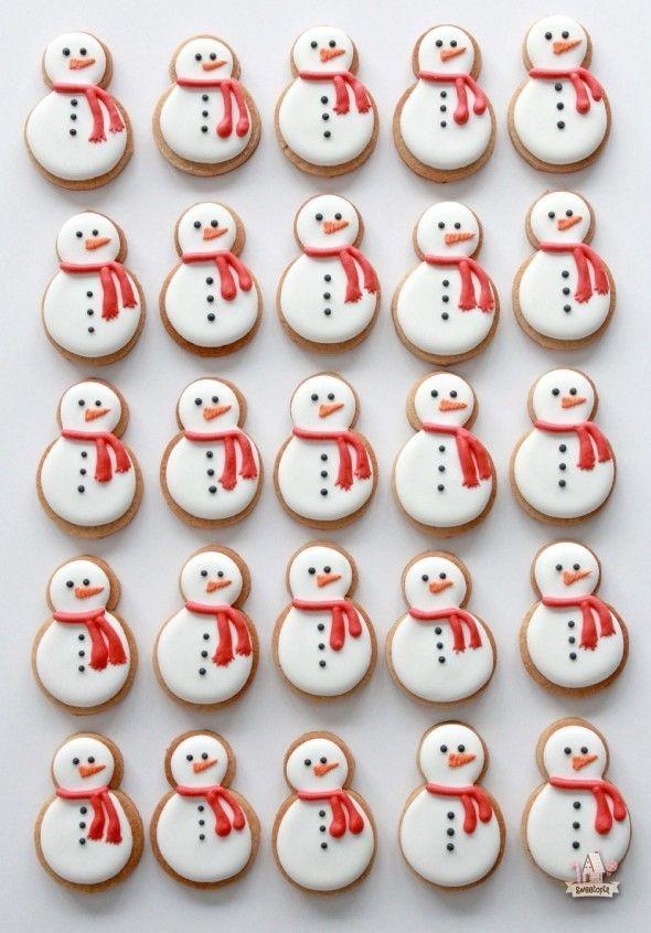 Kekse // Schneemänner #chocolatefrosty