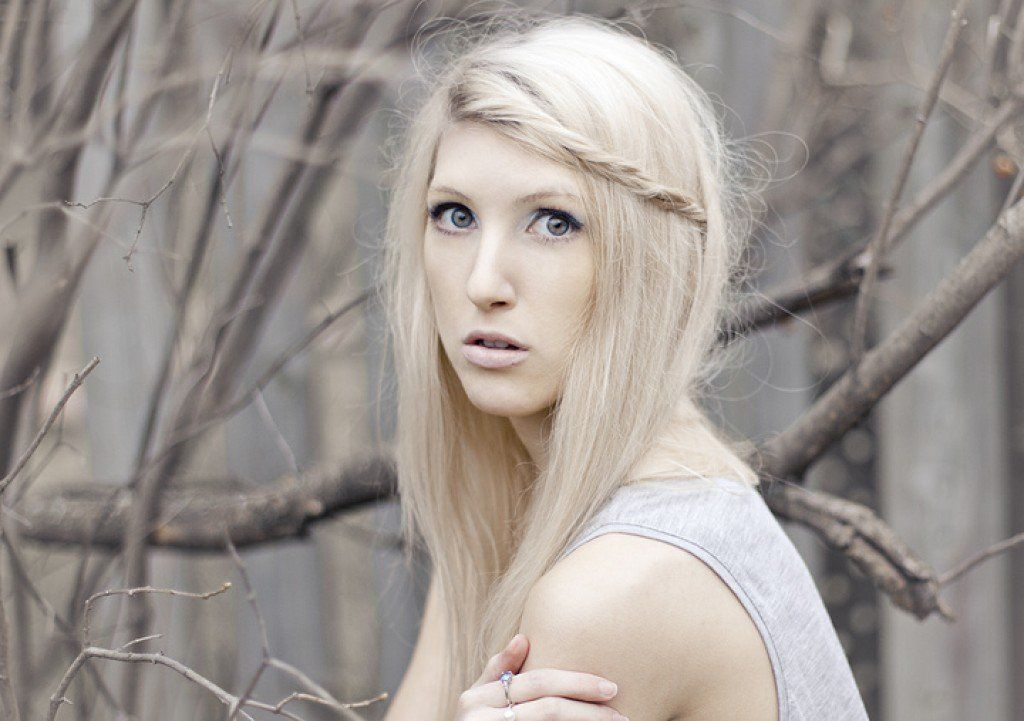 How To Dye Your Hair Blonde Without Bleach Bleached Hair Dyed