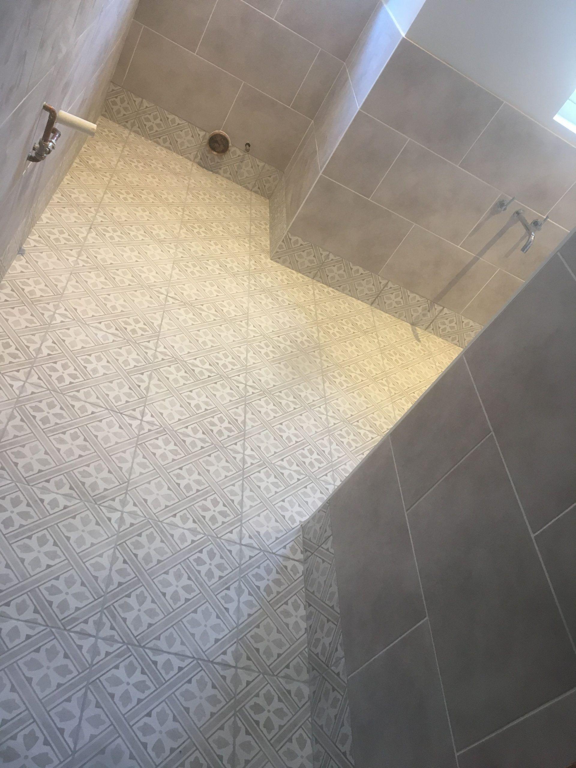Laura Ashley Bathroom Tiles In 2020 Laura Ashley Bathroom Tiles Patterned Bathroom Tiles Grey Bathroom Tiles