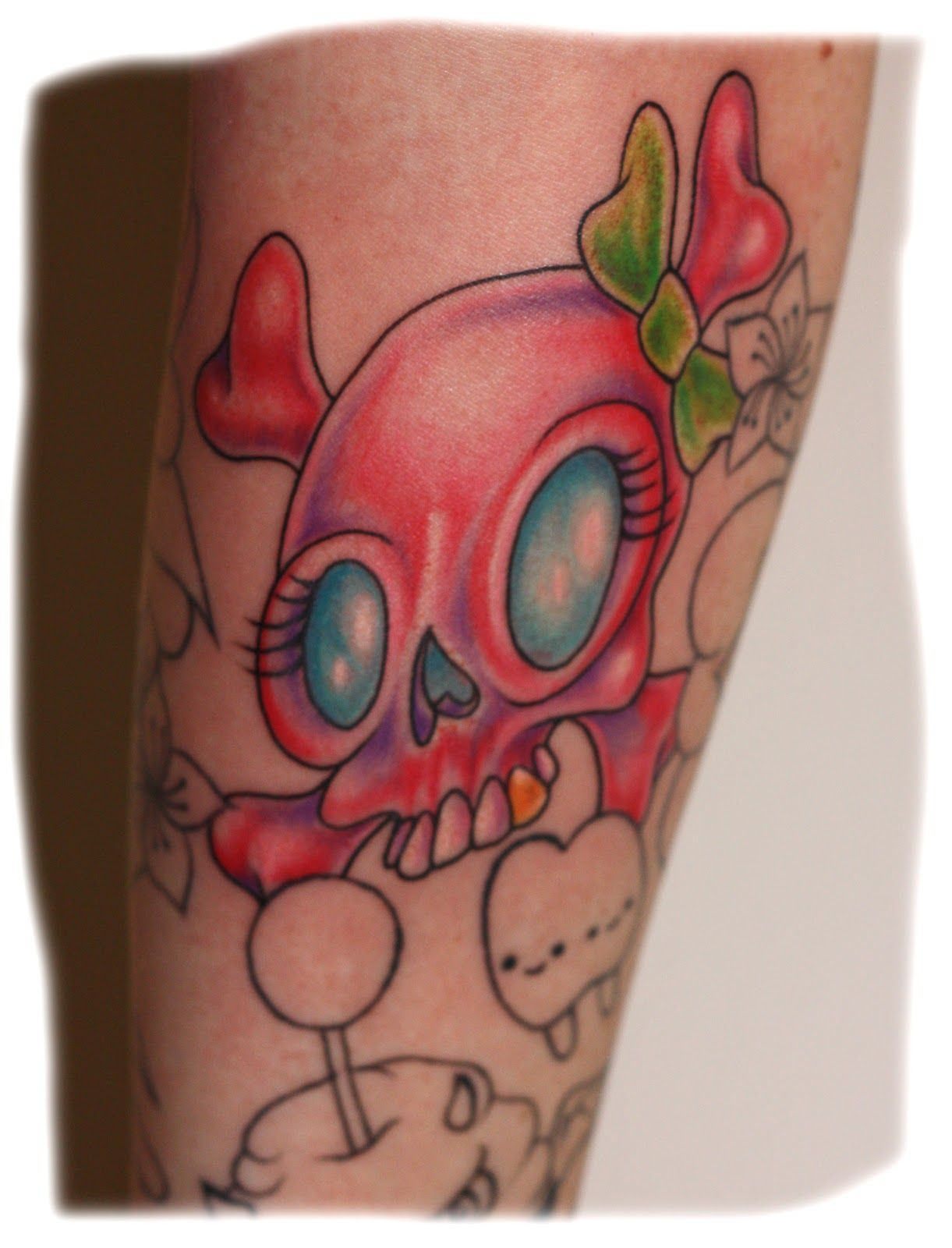 23++ Amazing Girl skull tattoo designs image HD