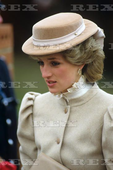 11 MARCH 1986 PRINCESS DIANA OPENS ST. MARY'S DAY CENTRE FOR THE ELDERLY IN BYFLEET, SURREY #princessdiana