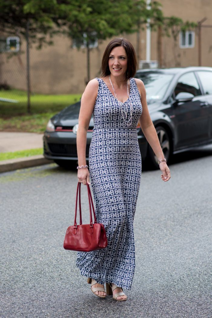 53fcb4d50cb This LOFT Double V-Neck Maxi Dress is a steal at  36!!!