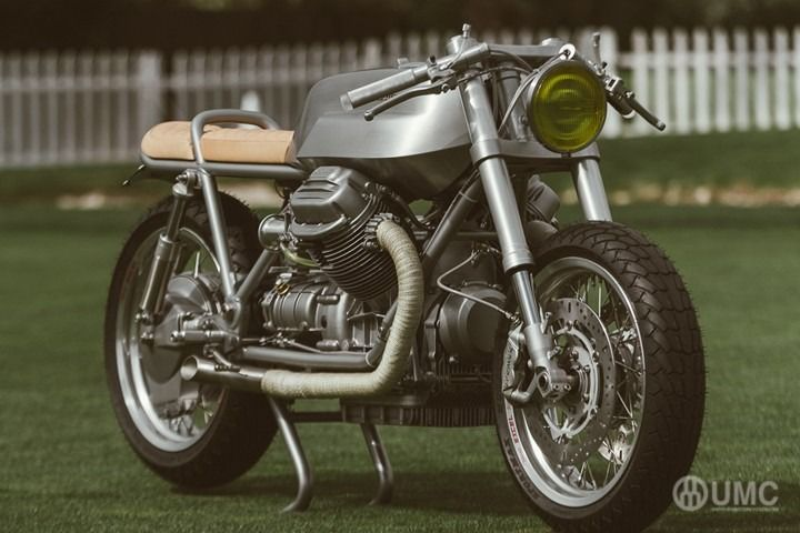 🏁 caferacerpasion.com 🏁 1975 Moto Guzzi 850T #CafeRacer - Untitled Motorcycles [TAGS] #caferacerpasion #motoguzzi