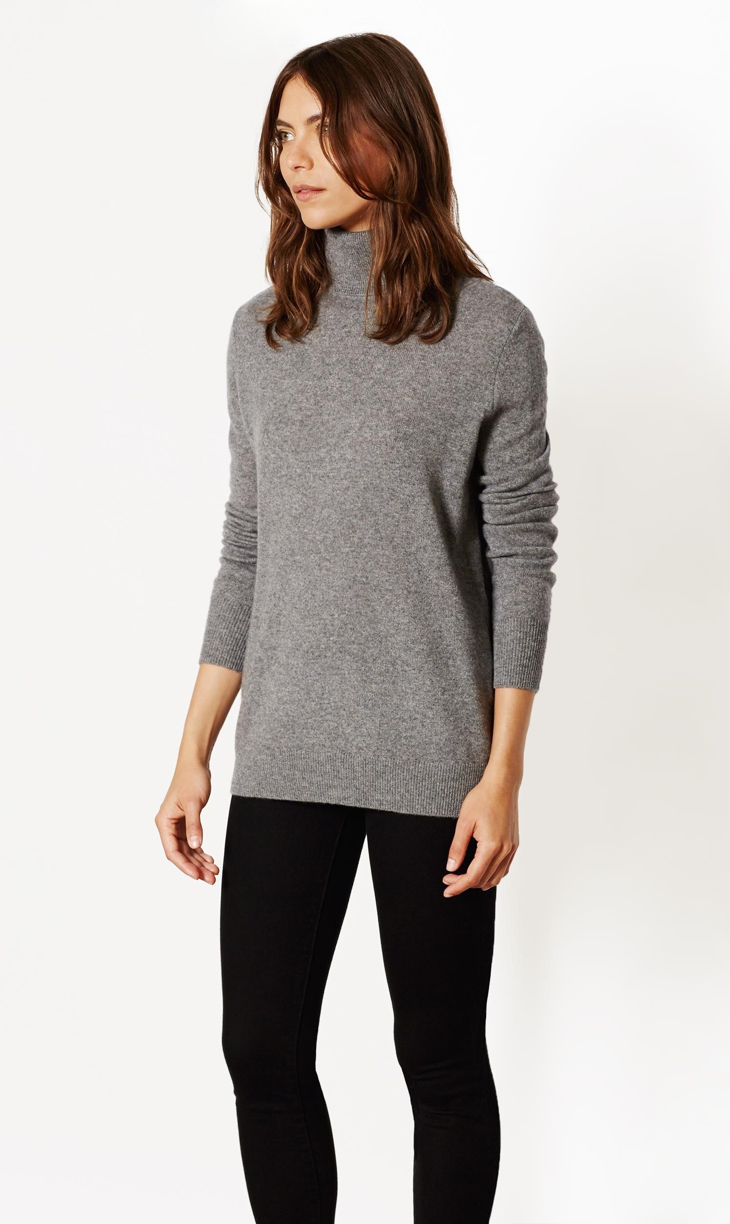 Oscar cashmere turtleneck | Cashmere sweaters and Cashmere