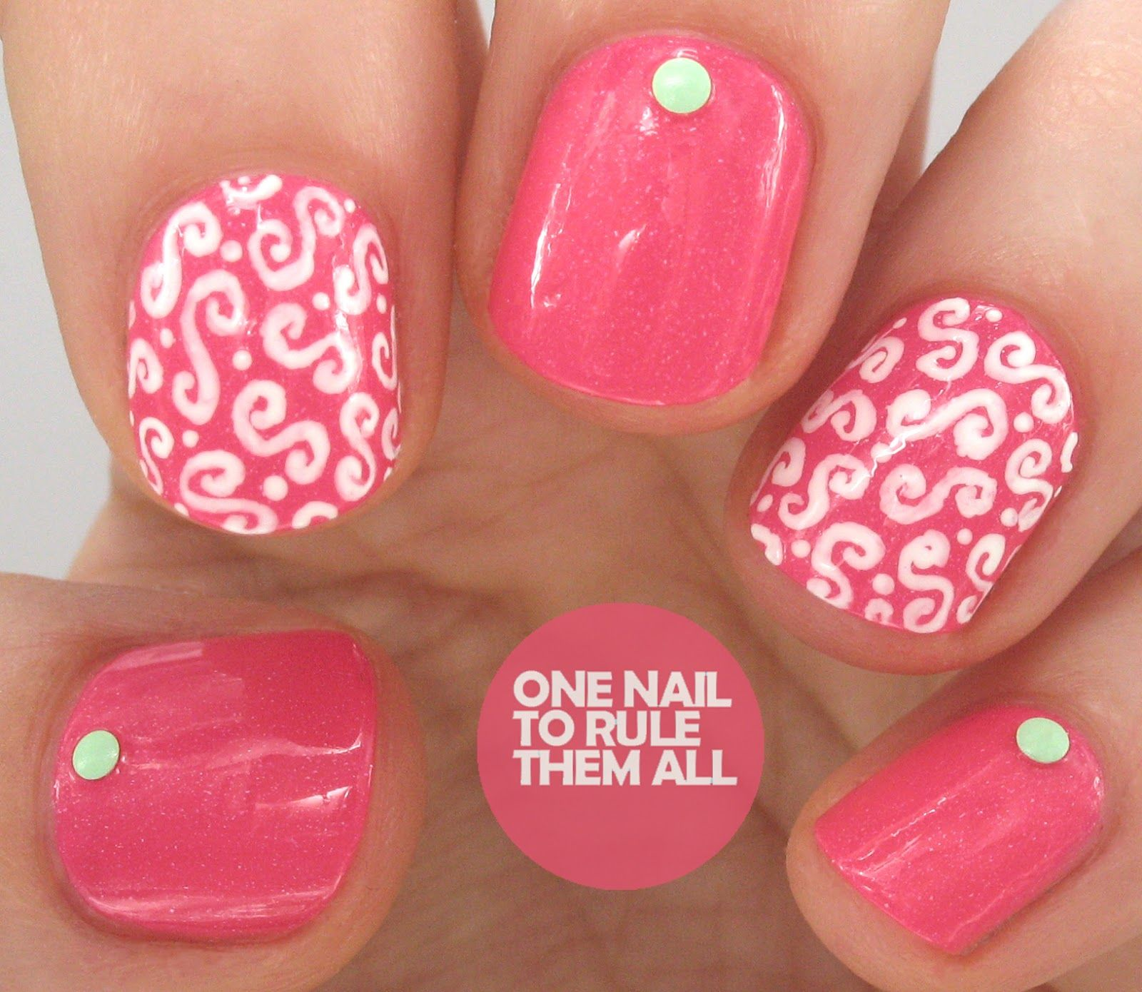 One Nail To Rule Them All: Picture Polish - Sizzle by Cosmetic ...