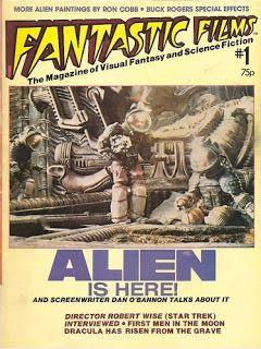 Alien on Fantastic Films cover