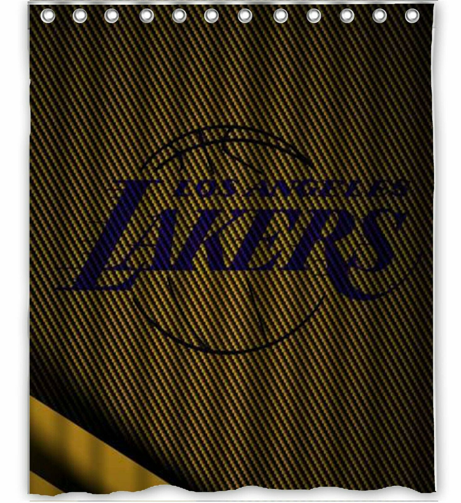 Los Angeles Lakers 4 Custom Shower Curtain 100 Polyester In 2020