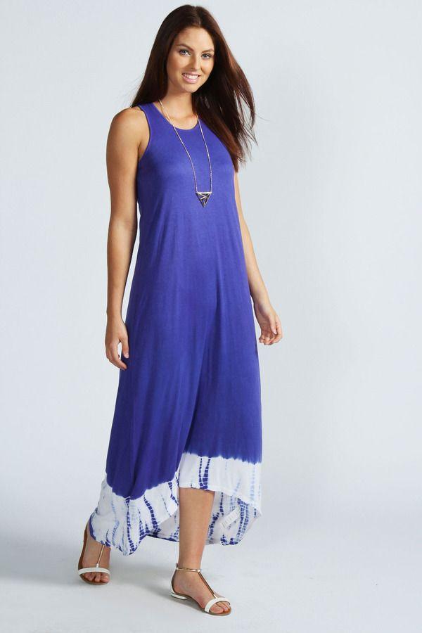 Sophia Sleeveless Tie Dye Maxi Dress | Tie dye maxi and Boohoo