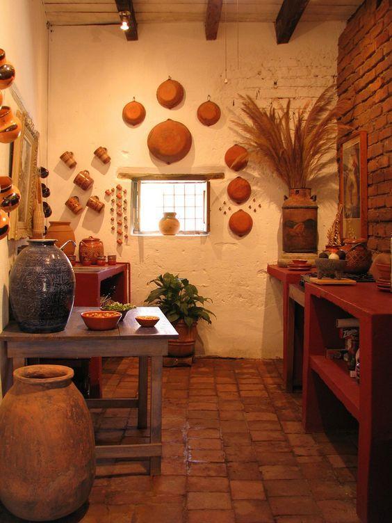 Ideas para tener una decoraci n r stica en tu casa con poco presu estilo r stico cocinas - Ideas para decoracion rustica ...
