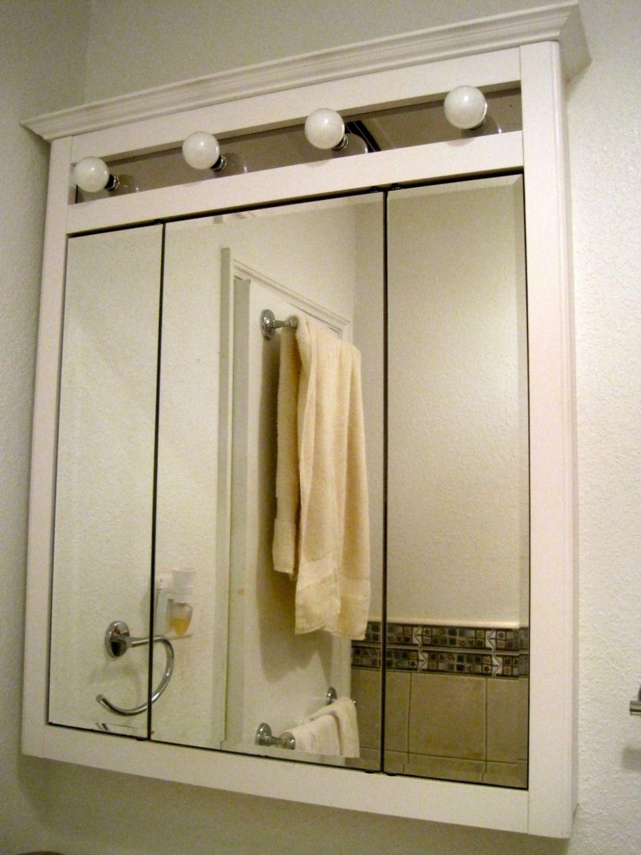 Bathroom mirror medicine cabinet with lights ideas pinterest bathroom mirror medicine cabinet with lights aloadofball Choice Image