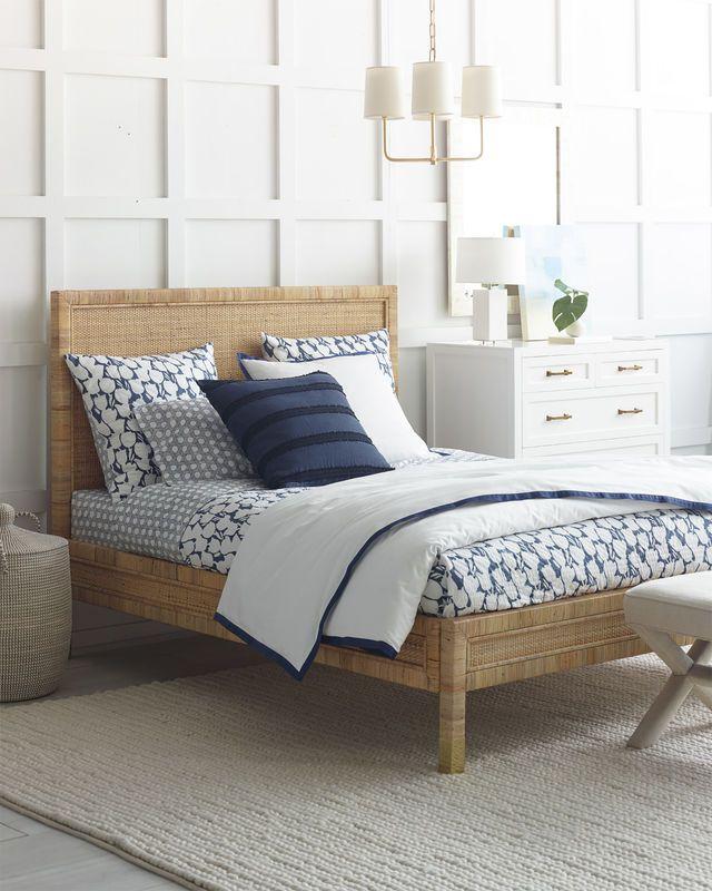 Balboa Bed Cortina Quilt Via Serena Lily