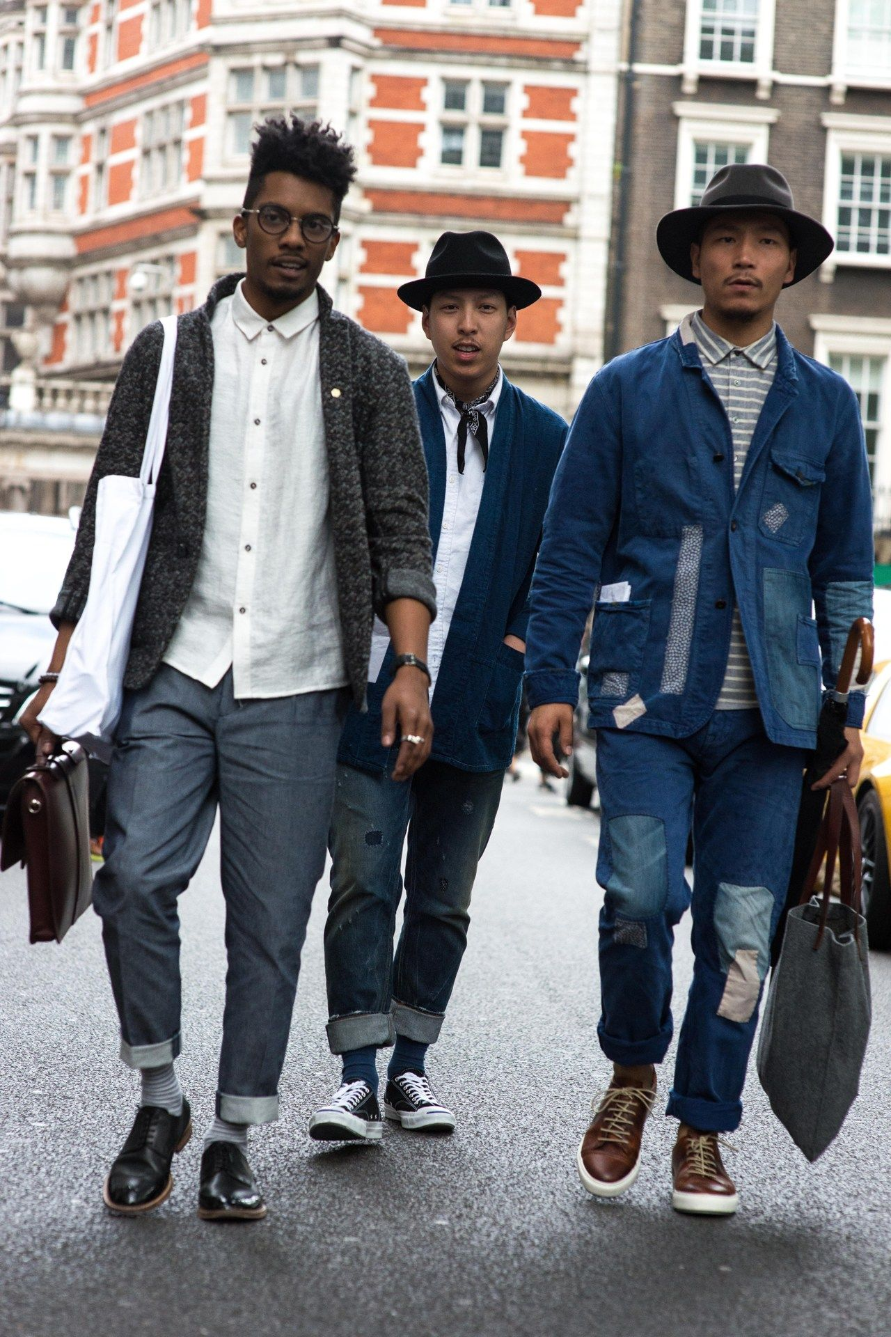 London Collections Men SS '16 street style GQ.co.uk