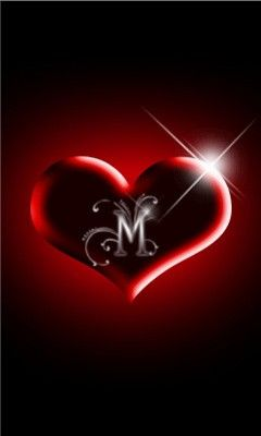 Love Letter M - Free Wallpaper Download - MobCup | Ideas for the House | Pinterest | Love ...