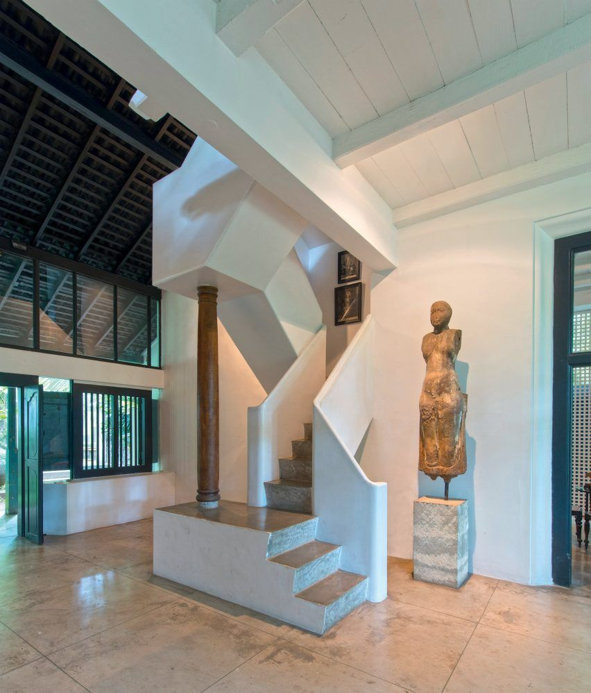 Staircases By Sri Lankan Modernist Architect Geoffrey Bawa Staircase Design Modernist Architects Staircase