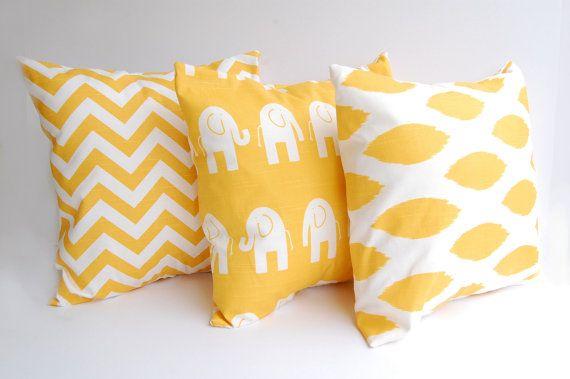 almohadones color estampados