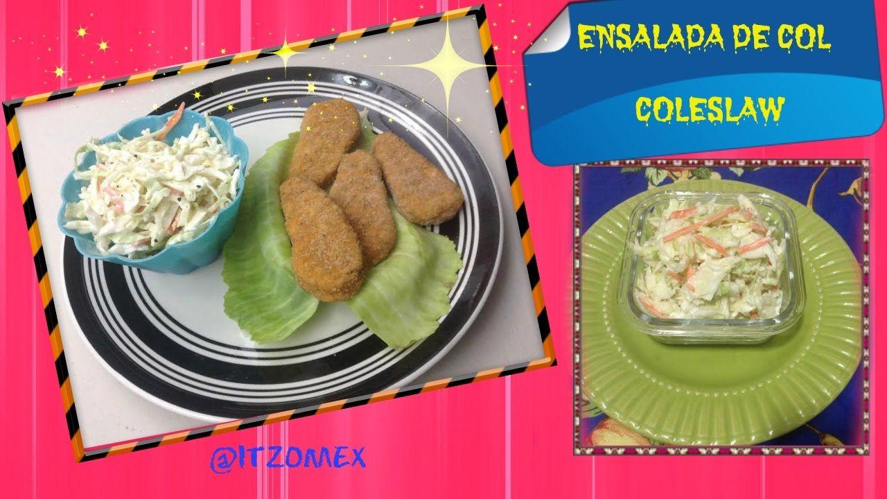 Receta de la Ensalada de Col /Coleslaw recipe/