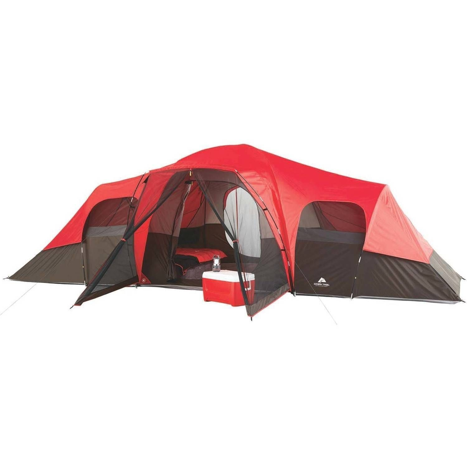 Ozark Trail 10 Person Family Camping Tent Ad Trail Affiliate Ozark Person Best Family Tent Family Tent Camping Cabin Tent