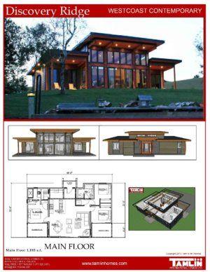 Contemporary Designs Tamlin Timber Frame Homes Lake House Plans Modern Lake House Cottage Plan
