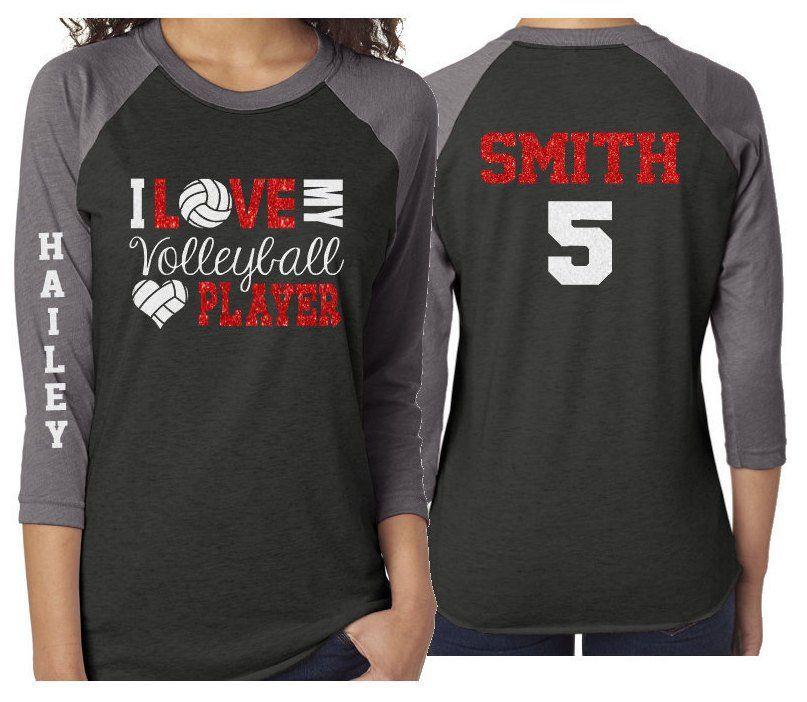 Glitter Volleyball Shirt Volleyball Mom Shirt Volleyball Etsy Volleyball Mom Shirts Volleyball Shirts Volleyball Shirt Designs