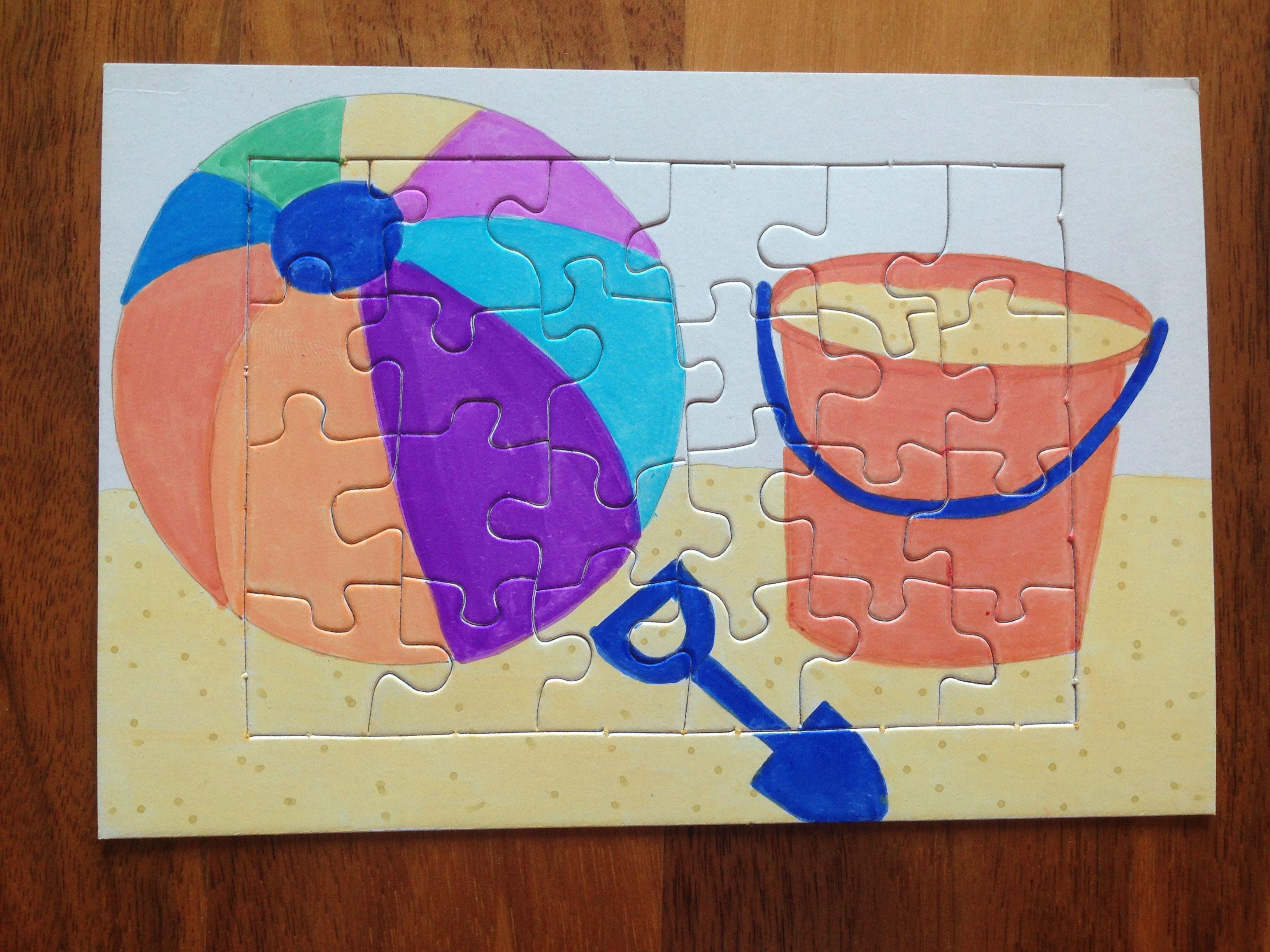 Puzzle Summer - Puzzle Sommer