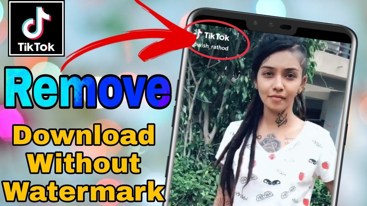 How To Download Tiktok Video Without Watermark 2020 Watermark How To Remove Video