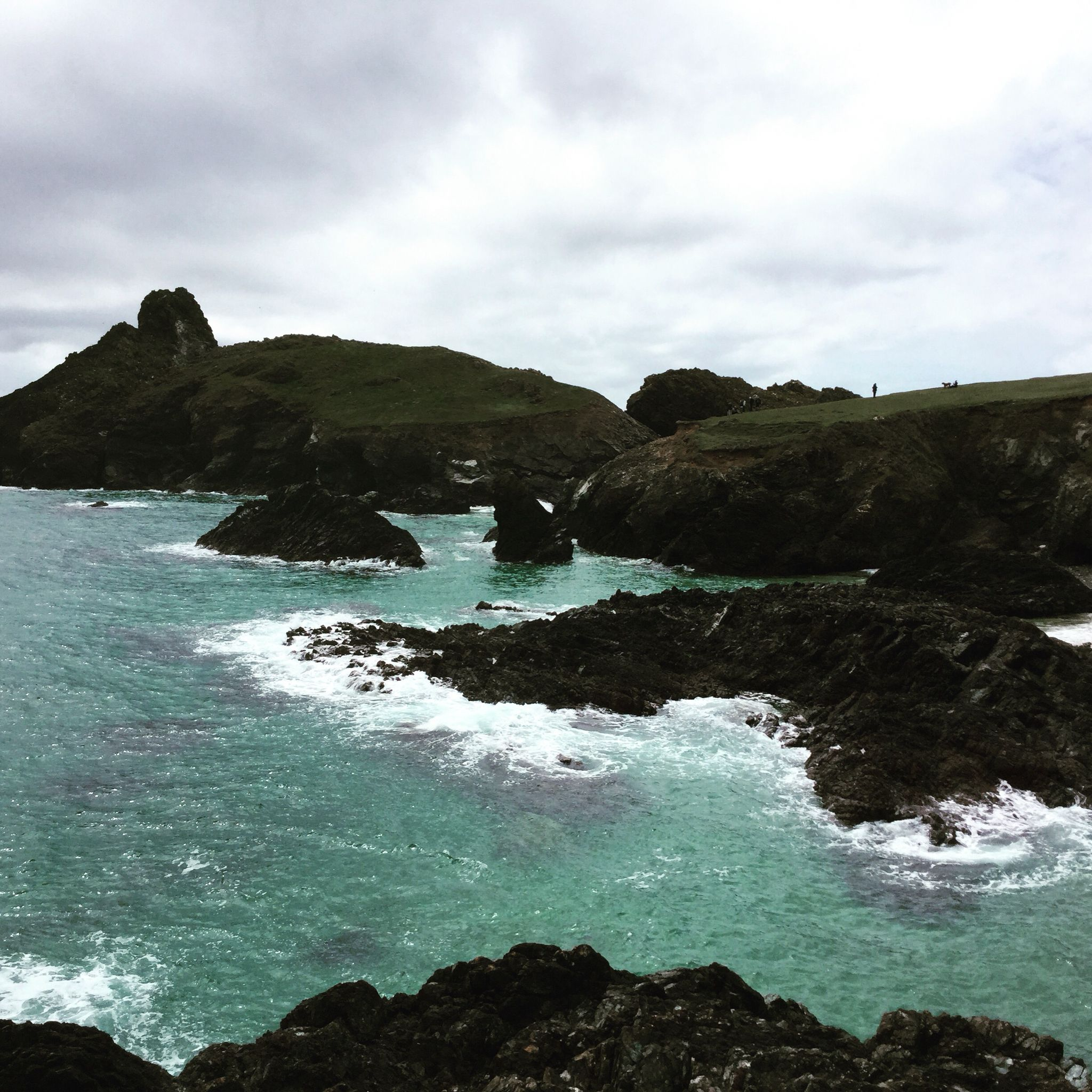 Kynance cove. Such a lovely place. Wish I was there now.