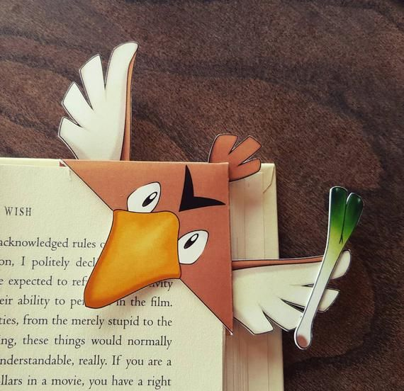 Boekenleggers, Bladwijzer, Vleugels