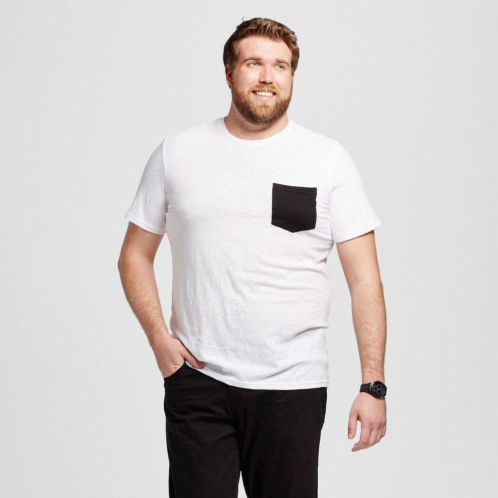 1bb384f5 Men's Big & Tall Crew Neck T-Shirt White 3XLT - Mossimo Supply Co., Size:  Xxxl Tall, Fresh White
