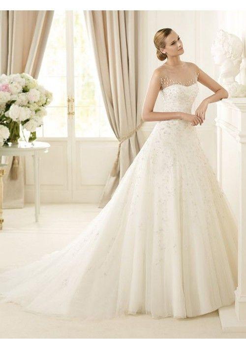 Top 25 ideas about Wedding Dresses 2013 on Pinterest | Satin ...