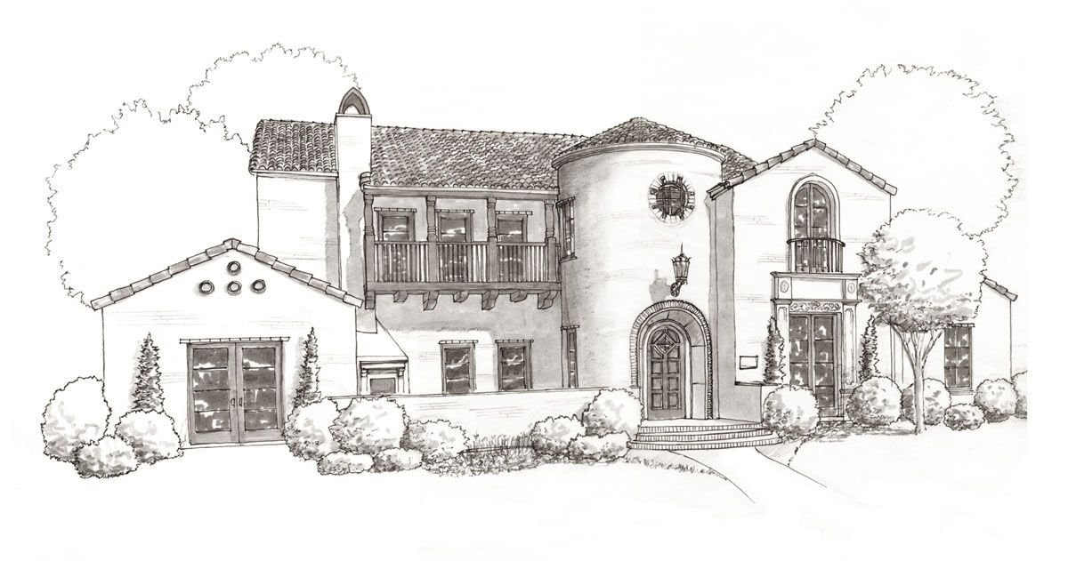 Image Result For Spanish Colonial Revival House Plans