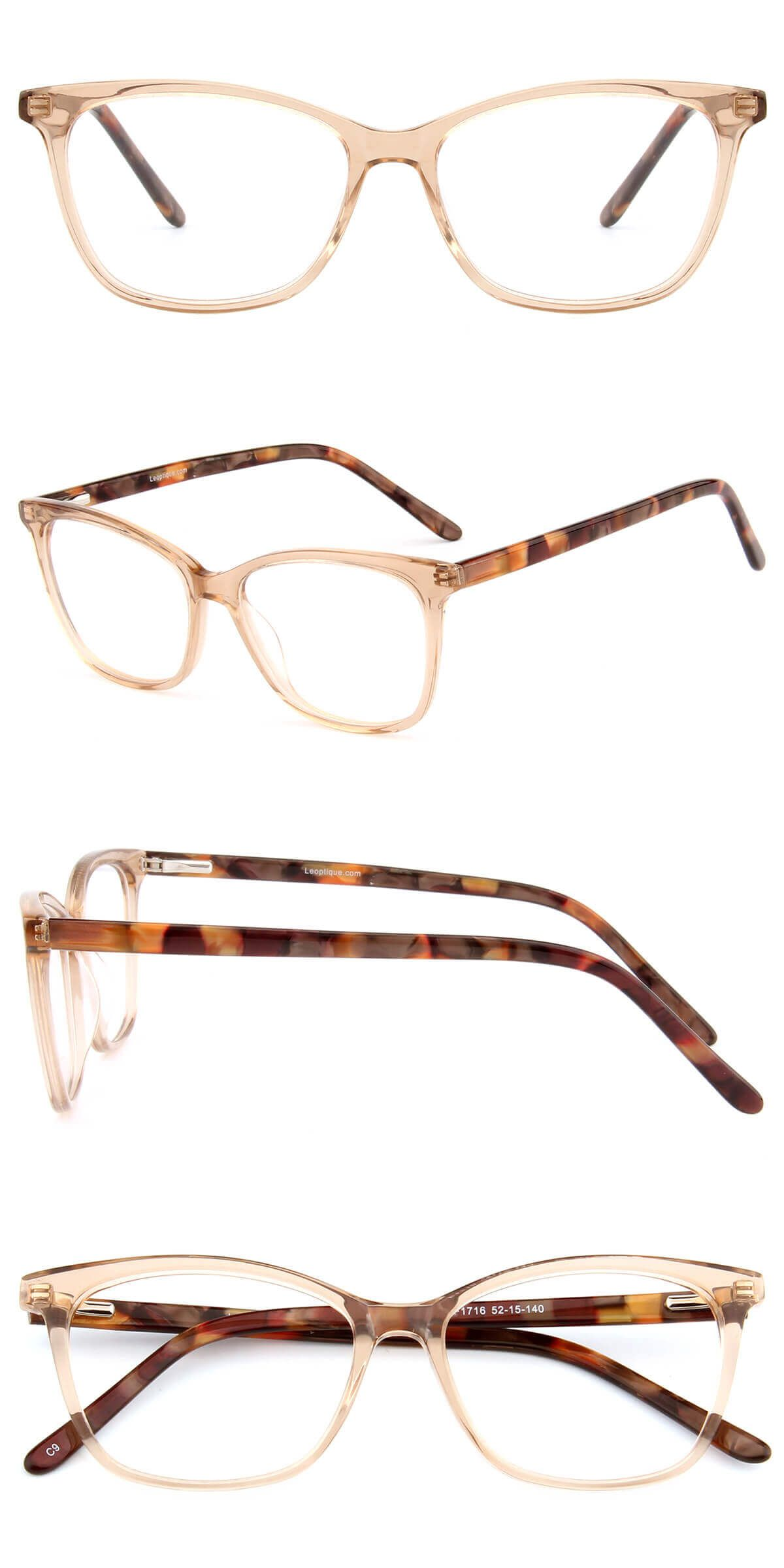 5642fcc071d These small-sized frames are made of translucent acetate