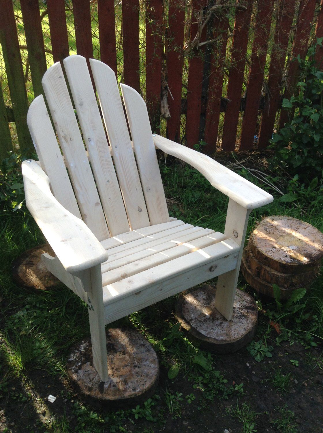Adirondack Patio Chair by TimberCraftCreations on Etsy
