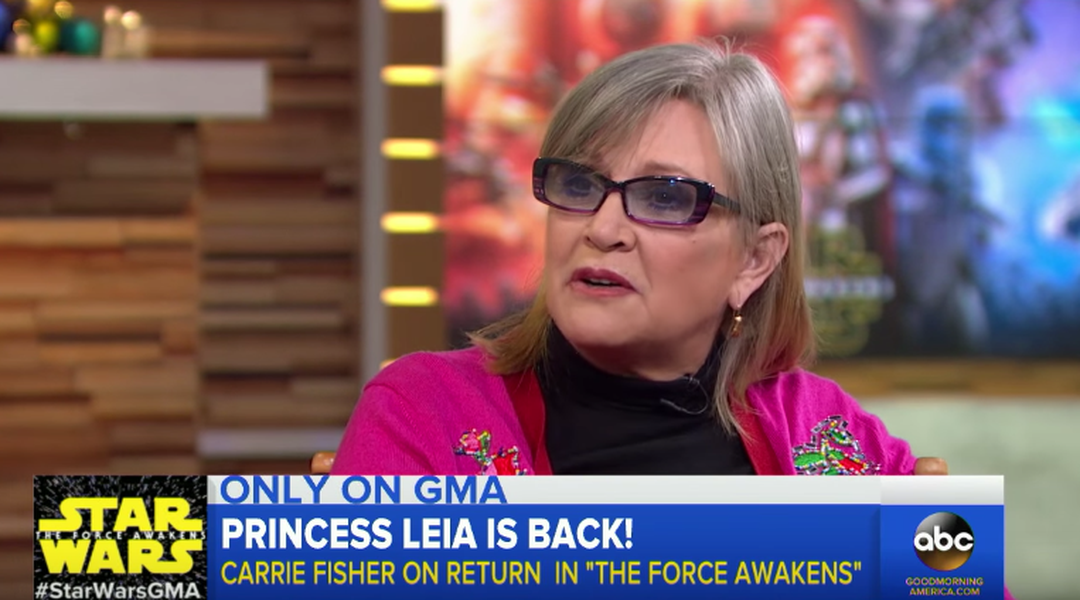Watch: this hilarious Carrie Fisher interview is why we will always love Carrie Fisher - Vox