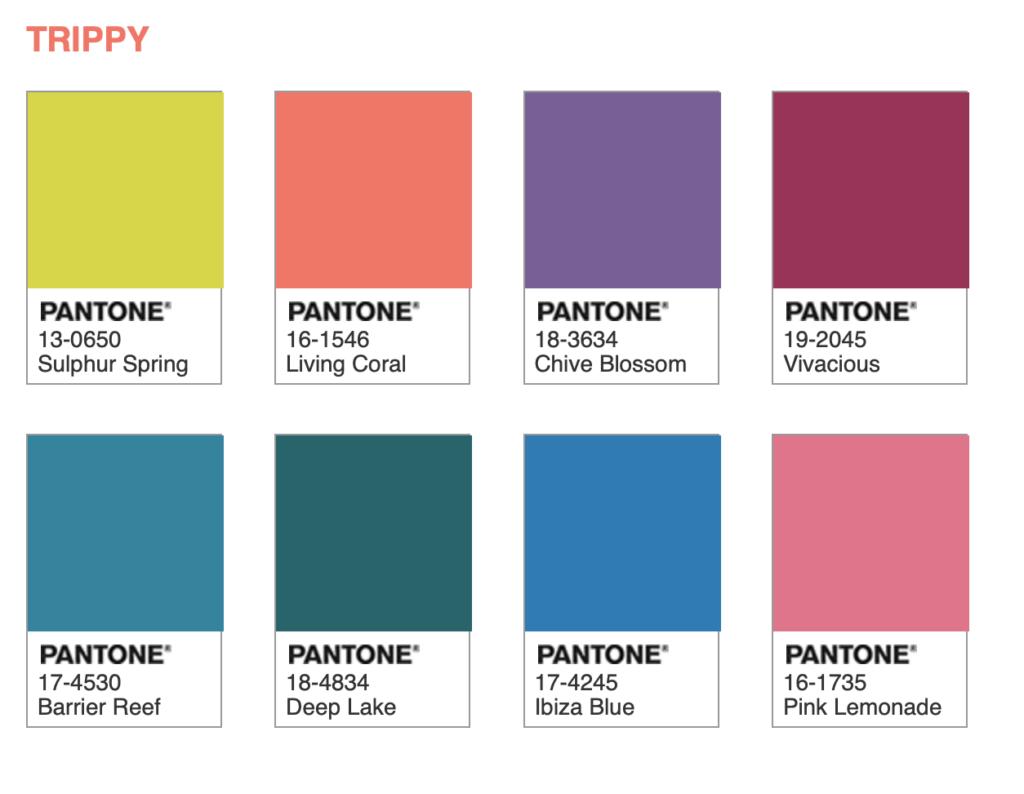 Cor Do Ano Pantone 2019 Living Coral Color Palettes Pantone