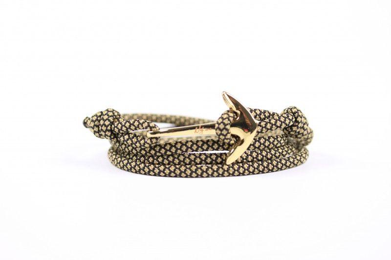 Anchor bracelet Custom Paracord Bracelet Logo unisex Anchor with round charm Anchor bracelet women bracelet Gift for her- Gift for him