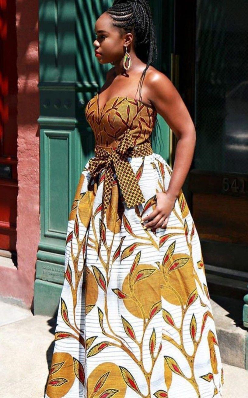Épinglé par SWEET AFRICA sur AFRICAN WOMAN FASHION | Robe africaine, Robe en pagne africain et ...