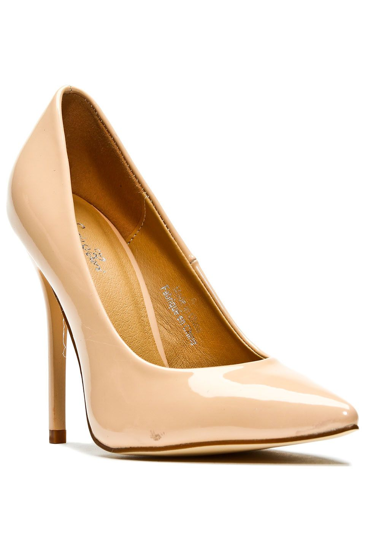 Women Fashion Patent Leather High Platform Pumps Charming